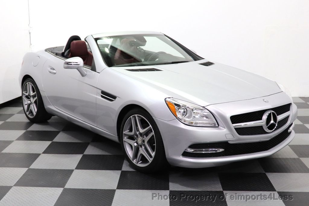 2015 Mercedes-Benz SLK CERTIFIED SLK250 ROADSTER 6 SPEED MANUAL TRANSMISSION - 17160374 - 1