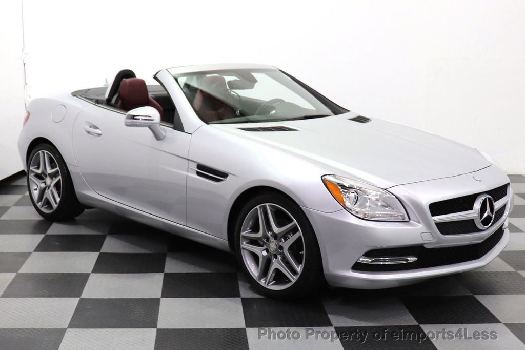 2015 Mercedes-Benz SLK CERTIFIED SLK250 ROADSTER 6 SPEED MANUAL TRANSMISSION - 17160374 - 25