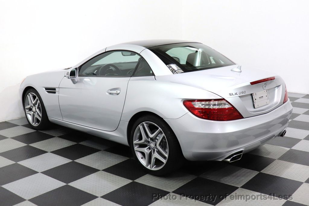 2015 Mercedes-Benz SLK CERTIFIED SLK250 ROADSTER 6 SPEED MANUAL TRANSMISSION - 17160374 - 26