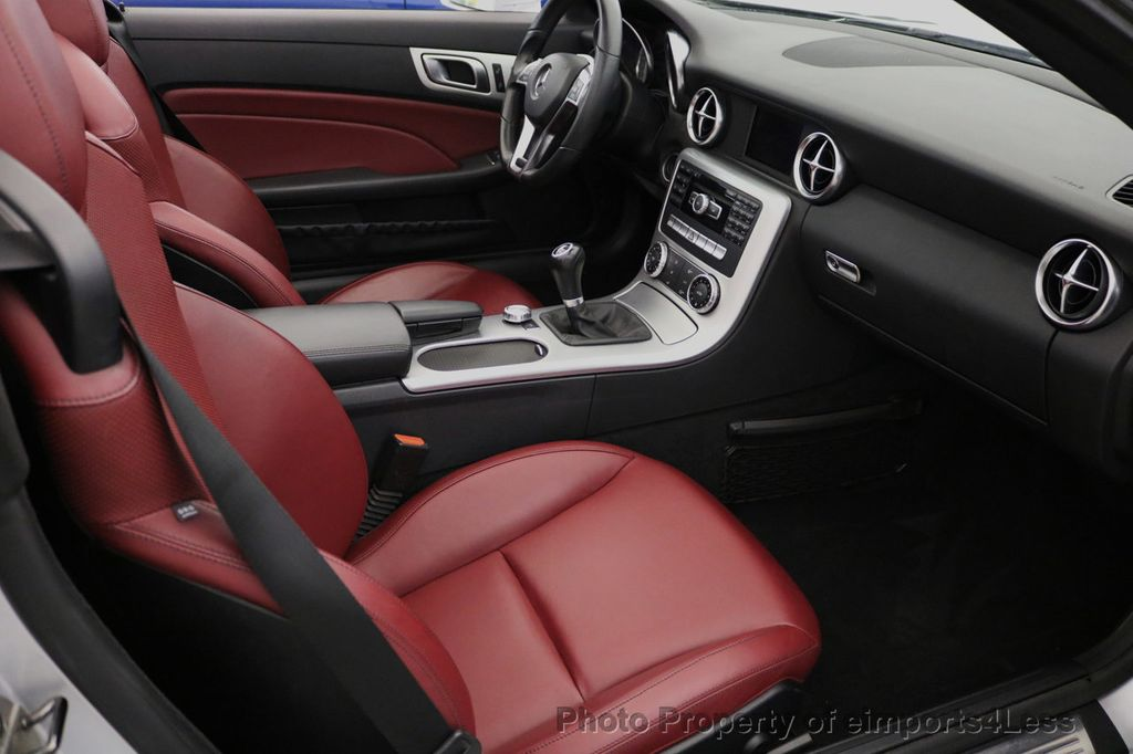 2015 Mercedes-Benz SLK CERTIFIED SLK250 ROADSTER 6 SPEED MANUAL TRANSMISSION - 17160374 - 35