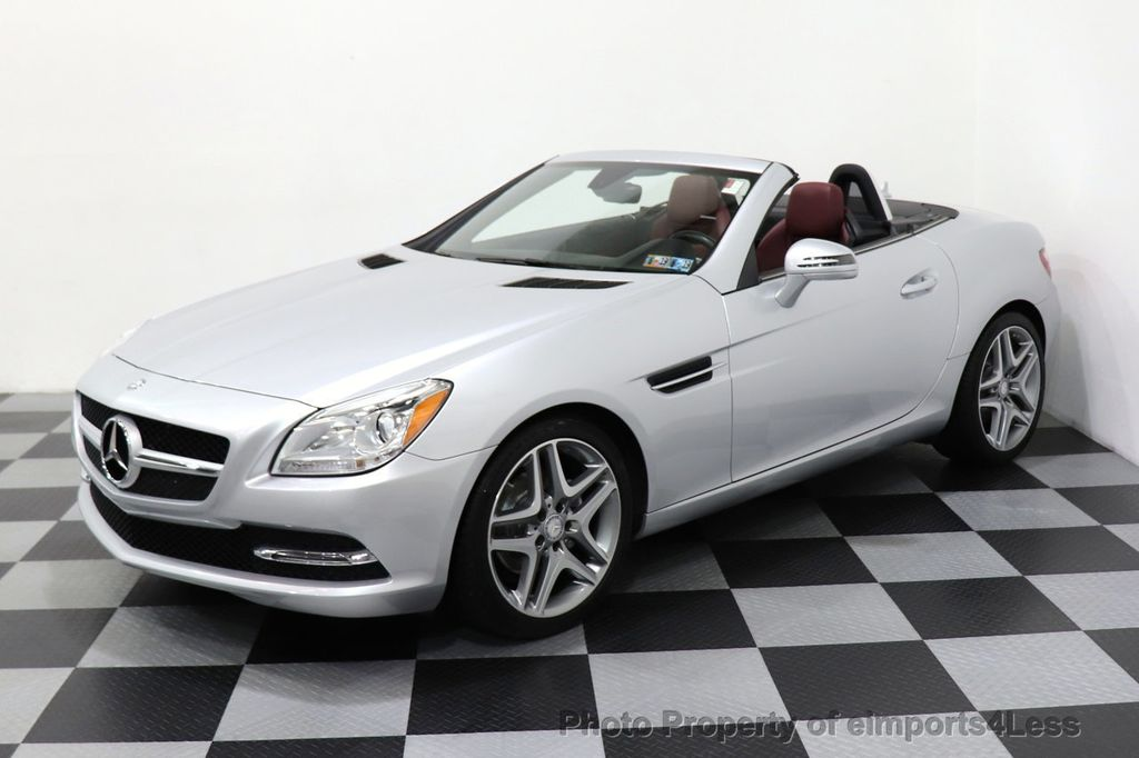 2015 Mercedes-Benz SLK CERTIFIED SLK250 ROADSTER 6 SPEED MANUAL TRANSMISSION - 17160374 - 36