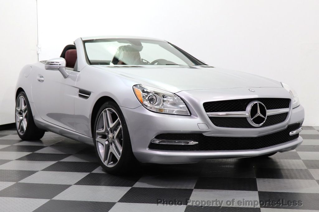2015 Mercedes-Benz SLK CERTIFIED SLK250 ROADSTER 6 SPEED MANUAL TRANSMISSION - 17160374 - 37