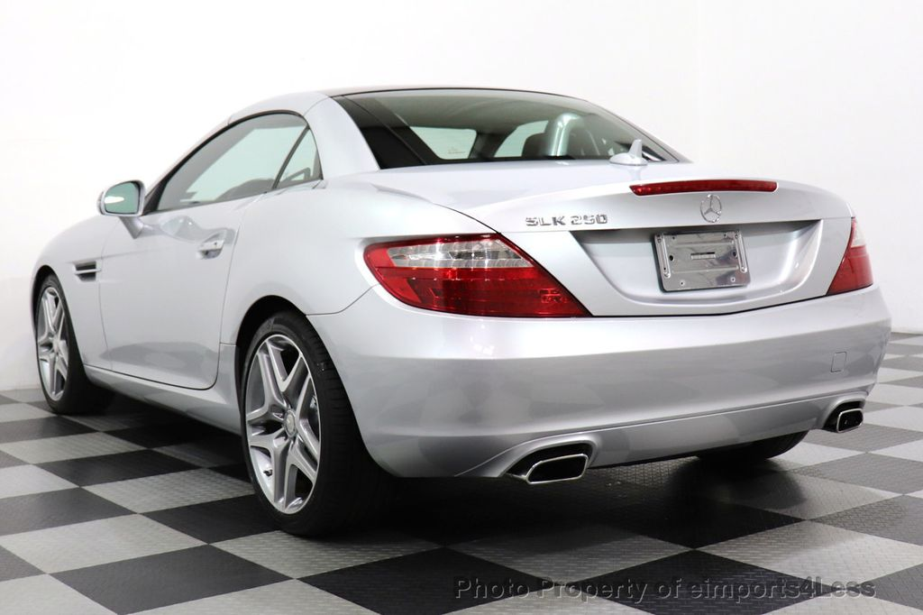 2015 Mercedes-Benz SLK CERTIFIED SLK250 ROADSTER 6 SPEED MANUAL TRANSMISSION - 17160374 - 38