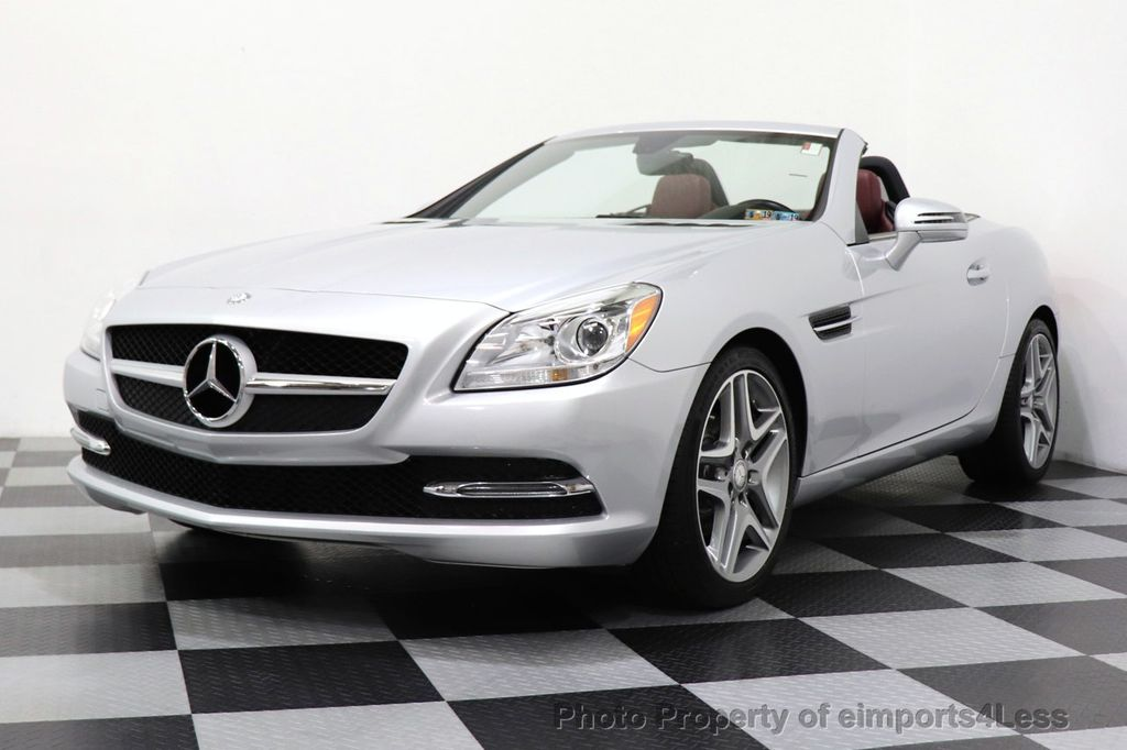 2017 Mercedes Benz Slk Certified Slk250 Roadster 6 Sd Manual Transmission 17160374 43