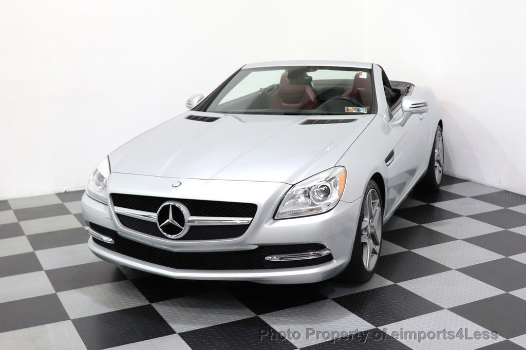 2015 Mercedes-Benz SLK CERTIFIED SLK250 ROADSTER 6 SPEED MANUAL TRANSMISSION - 17160374 - 44