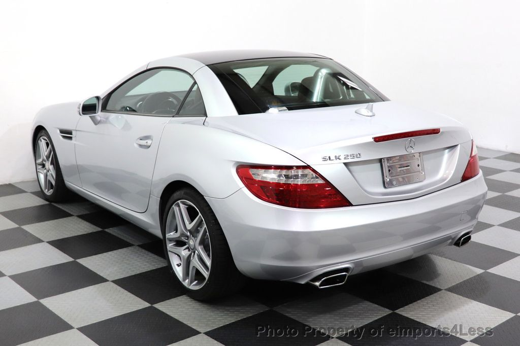 2015 Mercedes-Benz SLK CERTIFIED SLK250 ROADSTER 6 SPEED MANUAL TRANSMISSION - 17160374 - 45