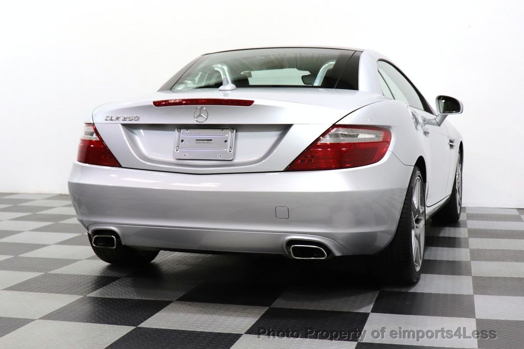 2015 Mercedes-Benz SLK CERTIFIED SLK250 ROADSTER 6 SPEED MANUAL TRANSMISSION - 17160374 - 46