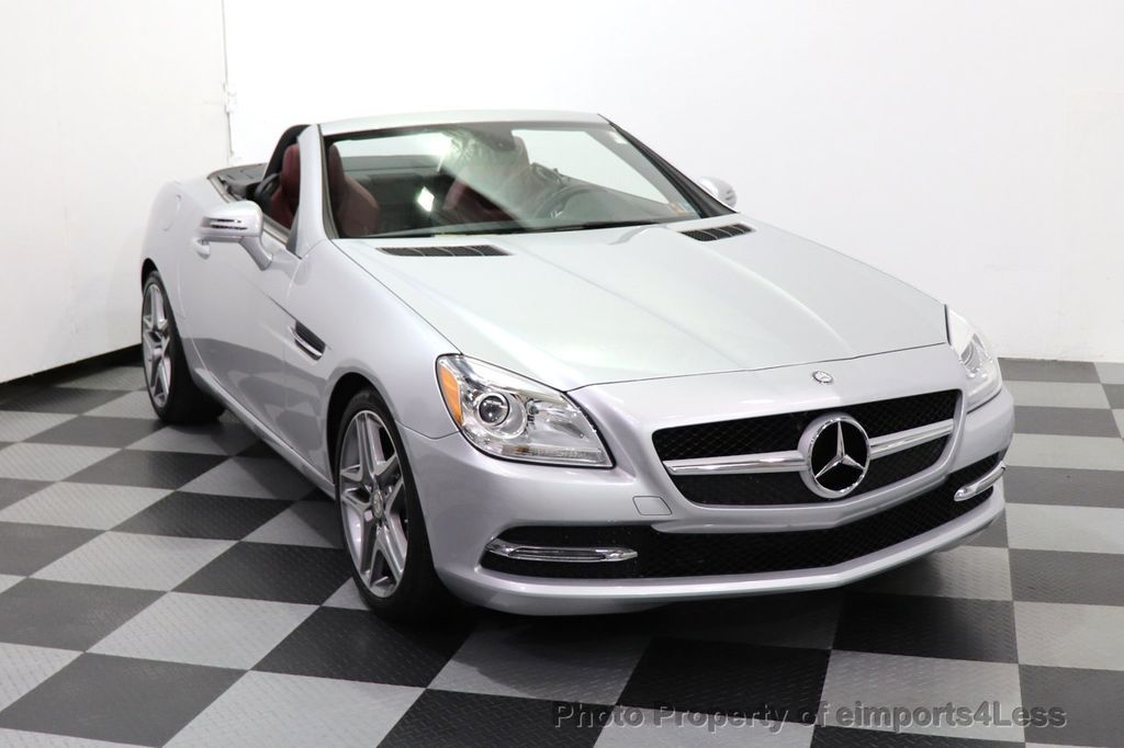 2015 Mercedes-Benz SLK CERTIFIED SLK250 ROADSTER 6 SPEED MANUAL TRANSMISSION - 17160374 - 47