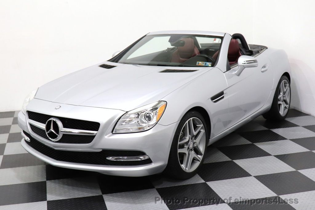 2015 Mercedes-Benz SLK CERTIFIED SLK250 ROADSTER 6 SPEED MANUAL TRANSMISSION - 17160374 - 7