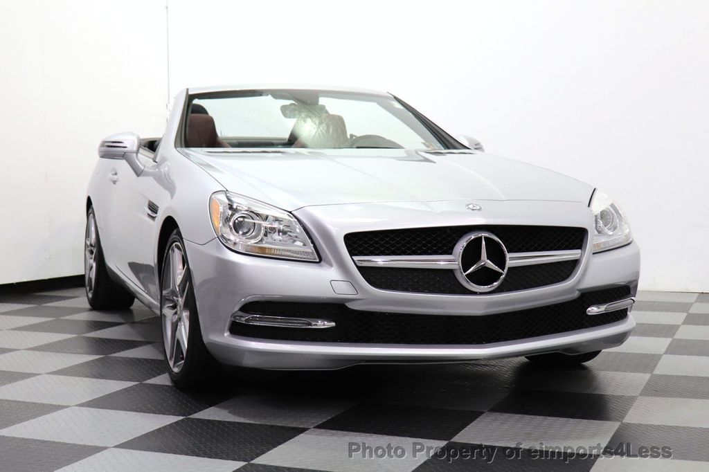 2015 Mercedes-Benz SLK CERTIFIED SLK250 ROADSTER 6 SPEED MANUAL TRANSMISSION - 17160374 - 8