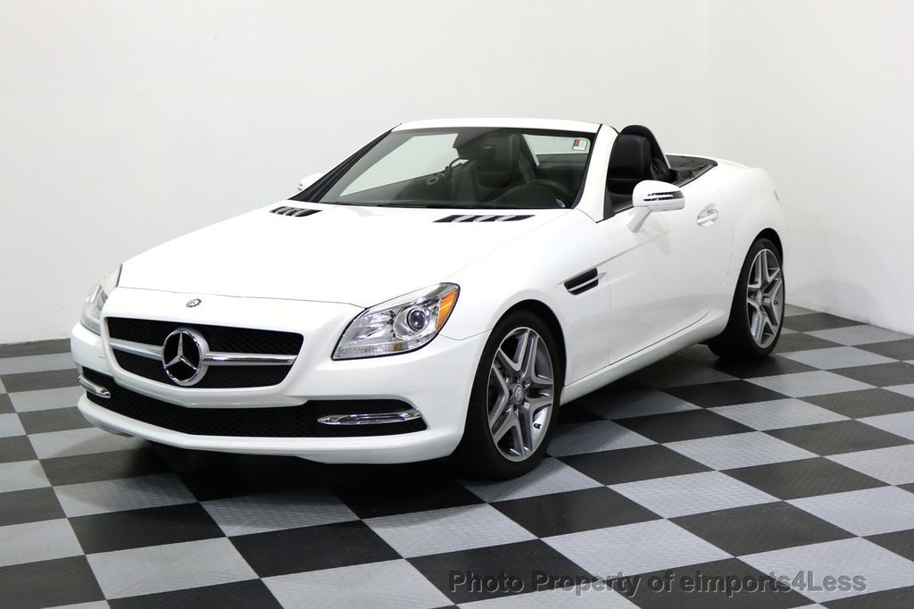 2015 Mercedes-Benz SLK CERTIFIED SLK250 ROADSTER HK AUDIO NAVIGATION - 17160373 - 0