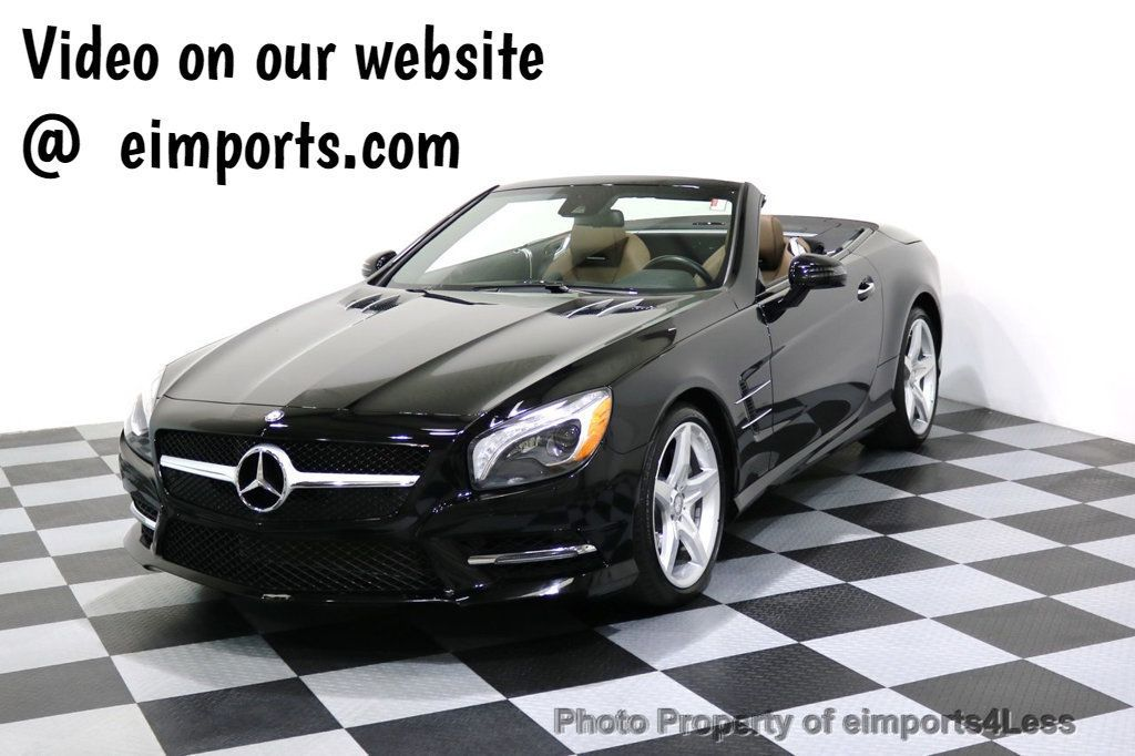 2015 Mercedes-Benz SL-Class CERTIFIED SL400 AMG Sport Package  - 17270738 - 0