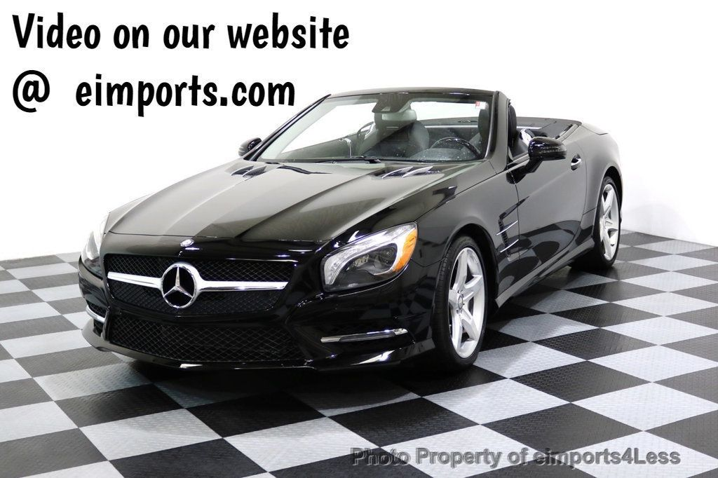 2015 Mercedes-Benz SL-Class CERTIFIED SL400 AMG Sport Package - 17365430 - 0