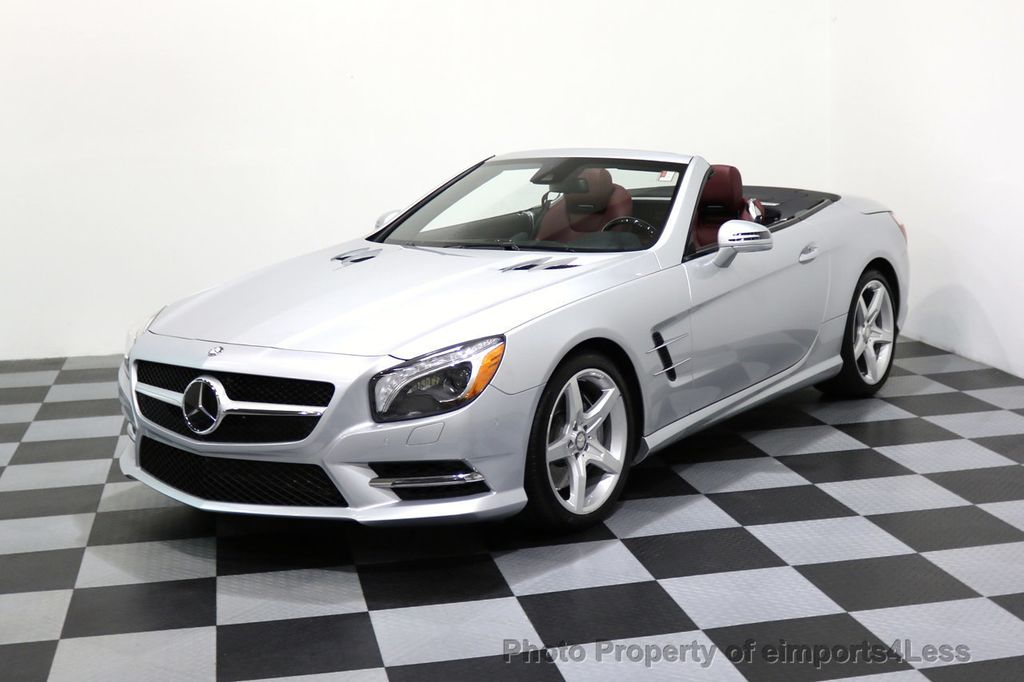 2015 Mercedes-Benz SL-Class CERTIFIED SL400 AMG Sport Package DISTRONIC - 17305830 - 38
