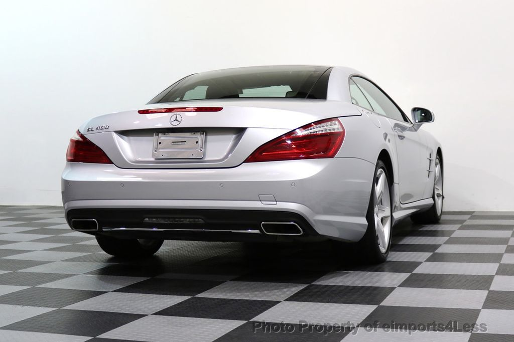 2015 Mercedes-Benz SL-Class CERTIFIED SL400 AMG Sport Package DISTRONIC - 17305830 - 50