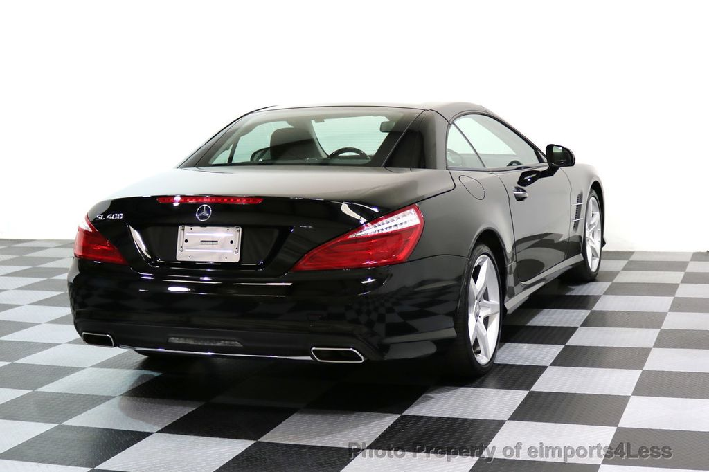 2015 Mercedes-Benz SL-Class CERTIFIED SL400 AMG Sport Package MAGIC SKY CONTROL - 17365430 - 3
