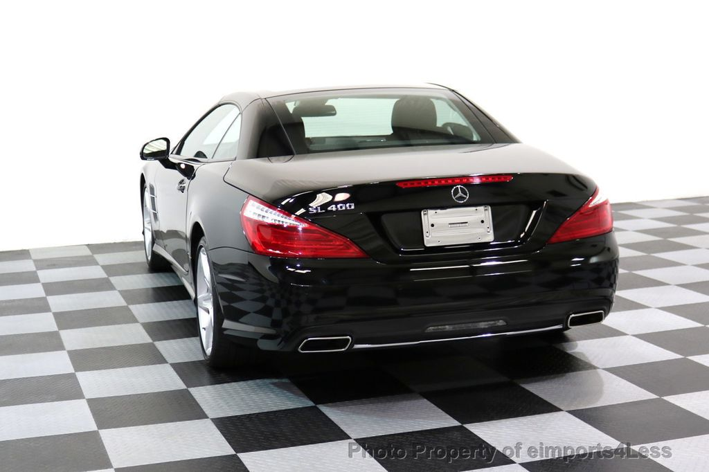 2015 Mercedes-Benz SL-Class CERTIFIED SL400 AMG Sport Package MAGIC SKY CONTROL - 17365430 - 45