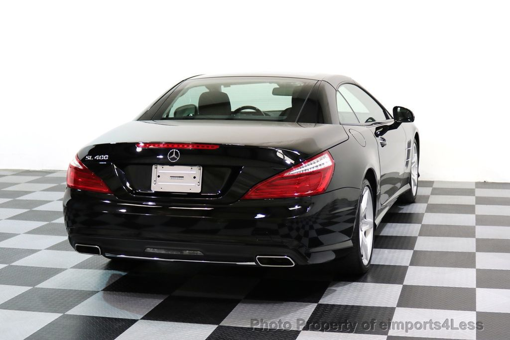 2015 Mercedes-Benz SL-Class CERTIFIED SL400 AMG Sport Package MAGIC SKY CONTROL - 17365430 - 46