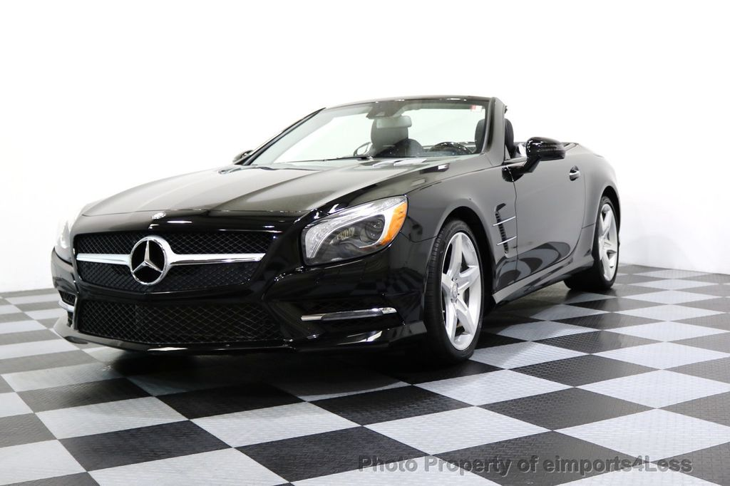 2015 Mercedes-Benz SL-Class CERTIFIED SL400 AMG Sport Package MAGIC SKY CONTROL - 17365430 - 47