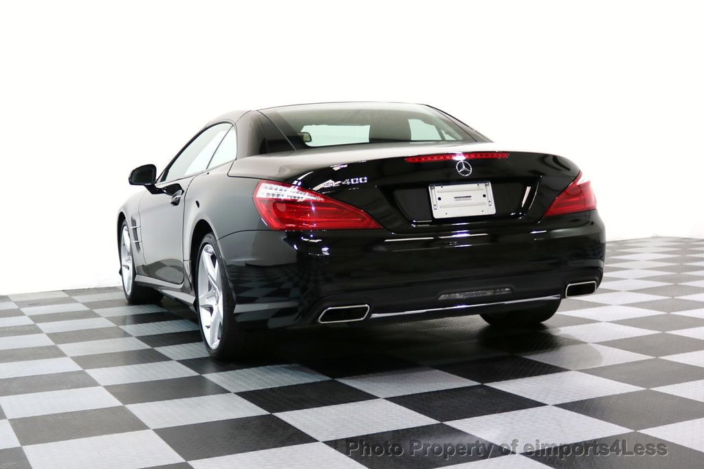 2015 Mercedes-Benz SL-Class CERTIFIED SL400 AMG Sport Package MAGIC SKY CONTROL - 17365430 - 48