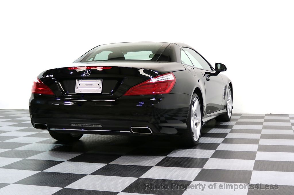 2015 Mercedes-Benz SL-Class CERTIFIED SL400 AMG Sport Package MAGIC SKY CONTROL - 17365430 - 49