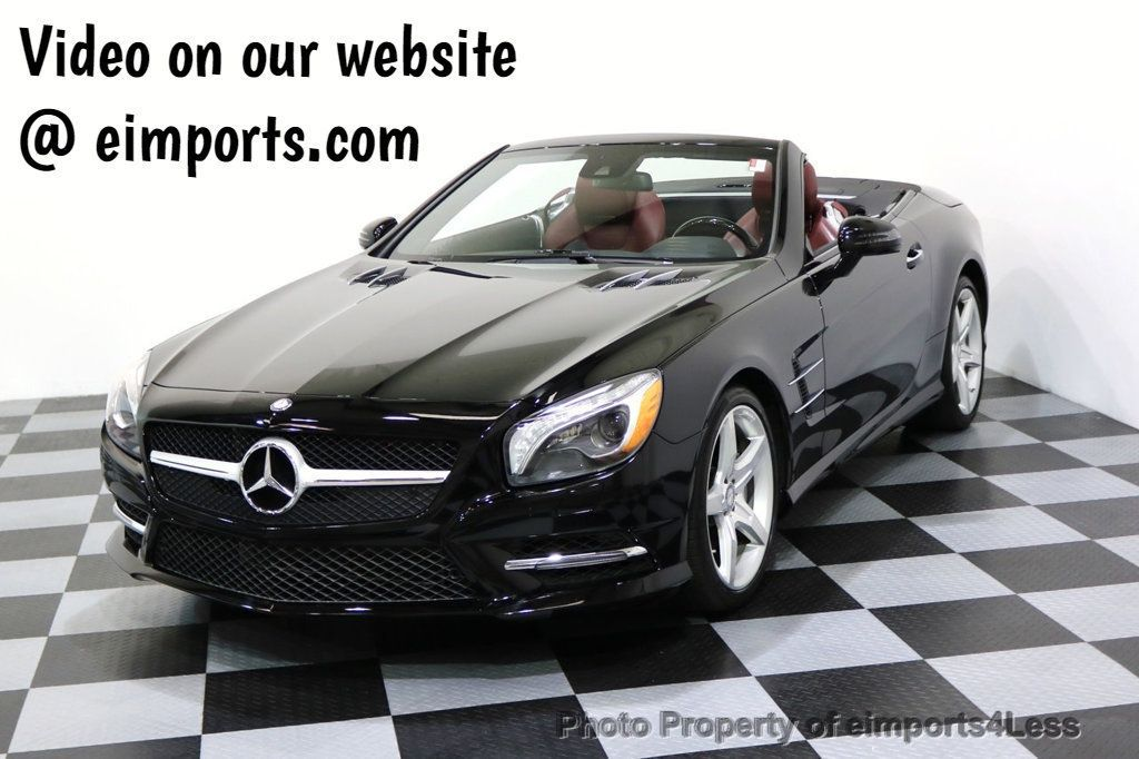 2015 Mercedes-Benz SL-Class CERTIFIED SL400 AMG Sport Package MAGIC SKY ROOF - 17370060 - 0