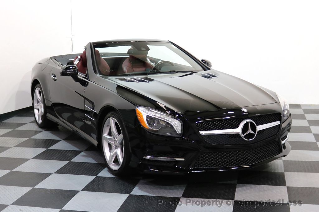 2015 Mercedes-Benz SL-Class CERTIFIED SL400 AMG Sport Package MAGIC SKY ROOF - 17370060 - 1