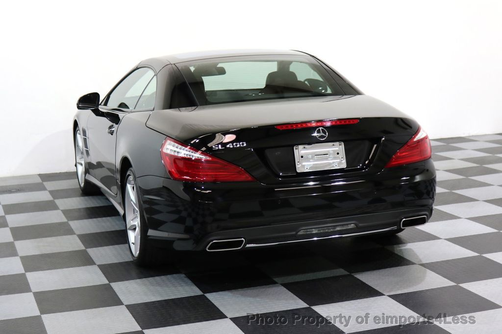 2015 Mercedes-Benz SL-Class CERTIFIED SL400 AMG Sport Package MAGIC SKY ROOF - 17370060 - 31
