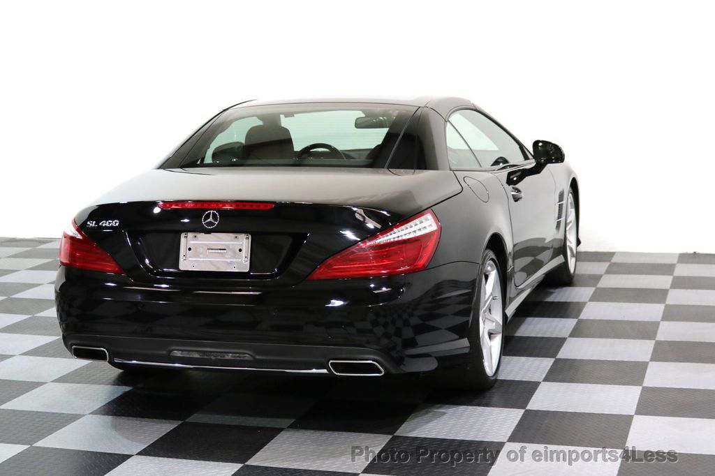 2015 Mercedes-Benz SL-Class CERTIFIED SL400 AMG Sport Package MAGIC SKY ROOF - 17370060 - 33