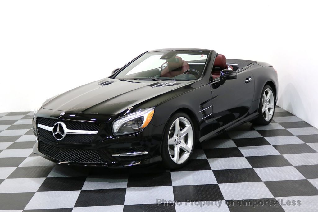 2015 Mercedes-Benz SL-Class CERTIFIED SL400 AMG Sport Package MAGIC SKY ROOF - 17370060 - 43