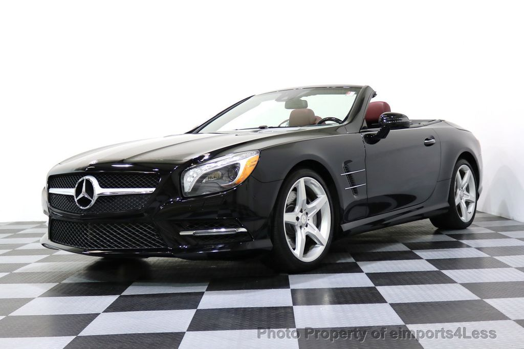 2015 Mercedes-Benz SL-Class CERTIFIED SL400 AMG Sport Package MAGIC SKY ROOF - 17370060 - 47