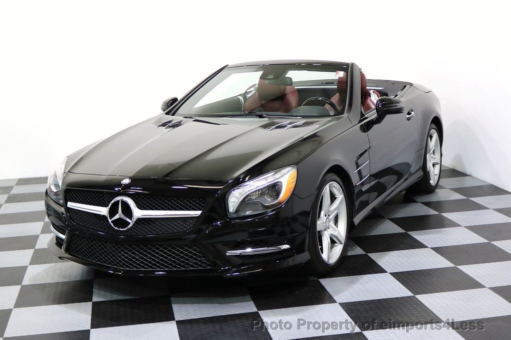 2015 Mercedes-Benz SL-Class CERTIFIED SL400 AMG Sport Package MAGIC SKY ROOF - 17370060 - 48