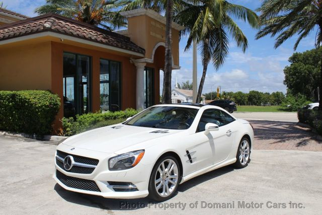 Panoramic Roof Cars >> 2015 Used Mercedes Benz Sl Class Designo Diamond White Panoramic Roof And A 94 560 Original Wind At Domani Motor Cars Inc Serving Deerfield Beach