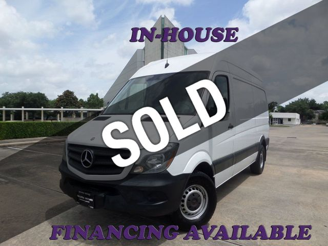 2015 Mercedes-Benz Sprinter Cargo Vans 2500 144""