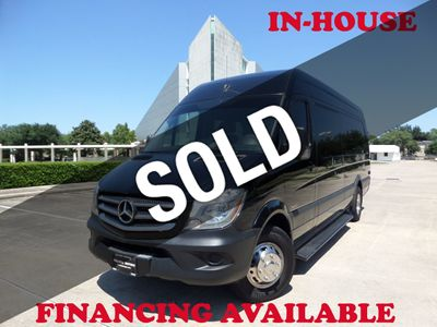 "2015 Mercedes-Benz Sprinter Passenger Vans 2015 Mercedes-Benz Sprinter 3500 High Roof 170"" WB, RWD, 1-Owner"