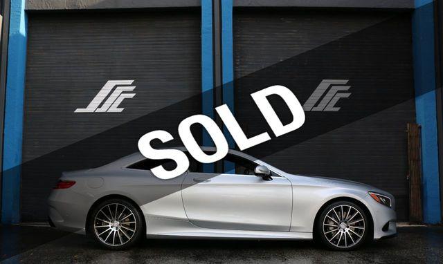 2015 Mercedes Benz S Class 2dr Coupe S 550 4matic Coupe For Sale Miami Fl 64 800 Motorcar Com