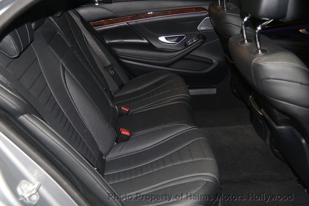 2015 Mercedes-Benz S-Class 4dr Sedan S 550 4MATIC - 17100737 - 18