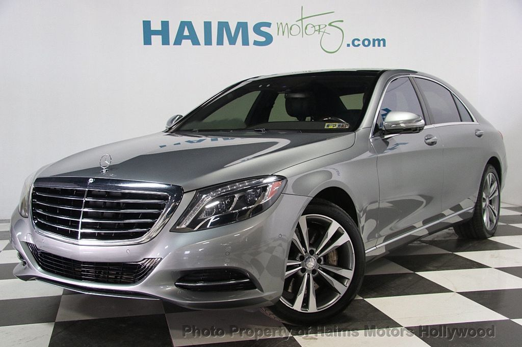 2015 Used Mercedes-Benz S-Class 4dr Sedan S 550 4MATIC at ...