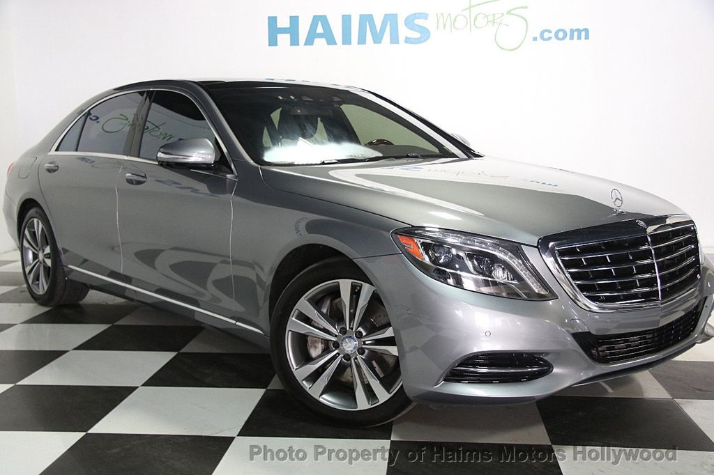 2015 Mercedes-Benz S-Class 4dr Sedan S 550 4MATIC - 17100737 - 3