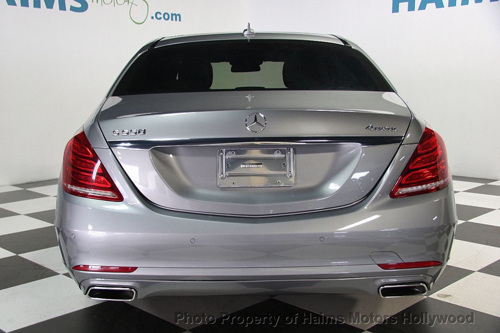 2015 Mercedes-Benz S-Class 4dr Sedan S 550 4MATIC - 17100737 - 5