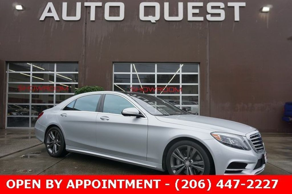 2015 Mercedes-Benz S-Class 4dr Sedan S 550 4MATIC - 18611243 - 0