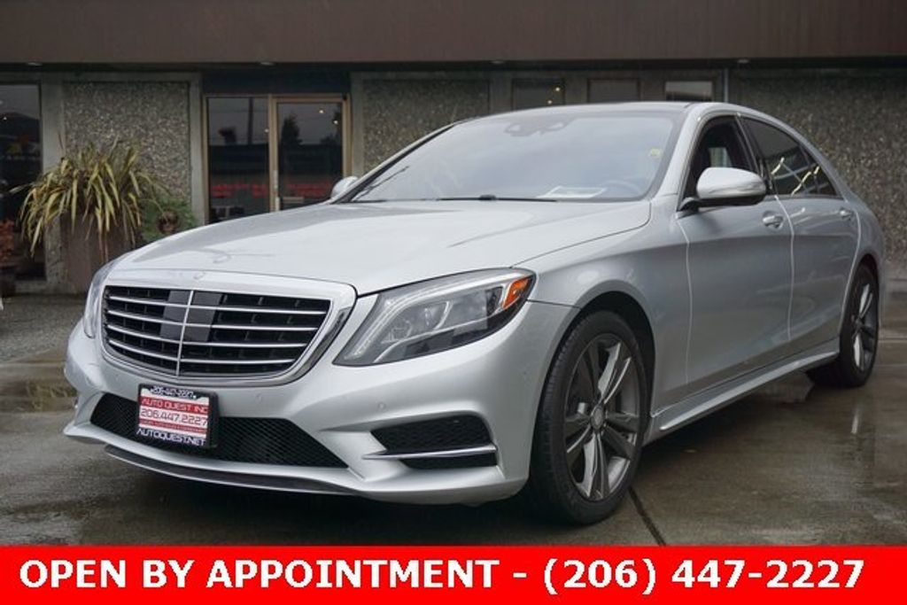 2015 Mercedes-Benz S-Class 4dr Sedan S 550 4MATIC - 18611243 - 2