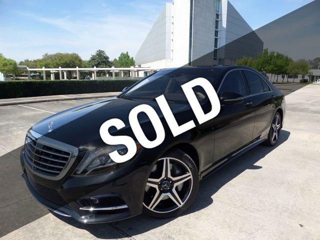 2015 Mercedes-Benz S-Class 4dr Sedan S 550 4MATIC