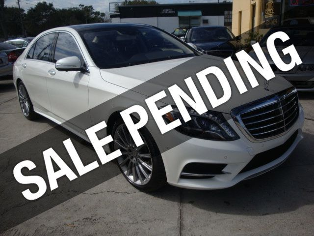 2015 Mercedes-Benz S-Class 4dr Sedan S550 4MATIC