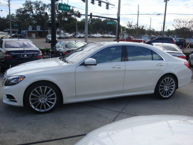 2015 Mercedes-Benz S-Class 4dr Sedan S550 4MATIC - 14694562 - 40