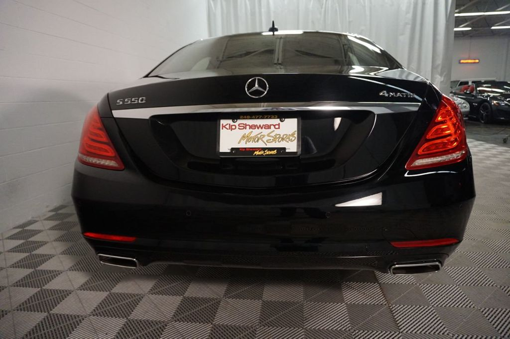 2015 Mercedes-Benz S-Class 4dr Sedan S 550 4MATIC - 18178712 - 8