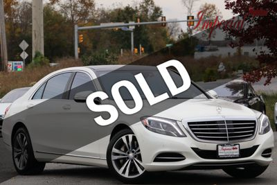 2015 Mercedes-Benz S-Class 4dr Sedan S 550 RWD