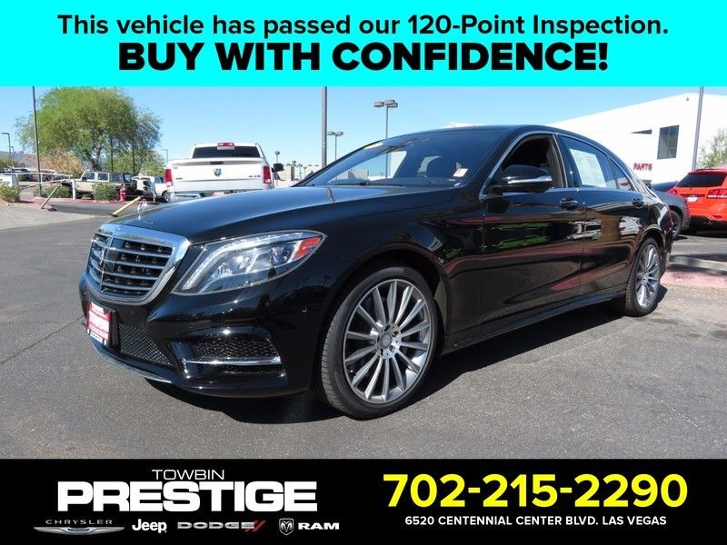 2015 Mercedes-Benz S-Class 4dr Sedan S 550 RWD - 16730625 - 0