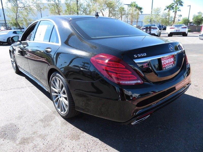 2015 Mercedes-Benz S-Class 4dr Sedan S 550 RWD - 16730625 - 9