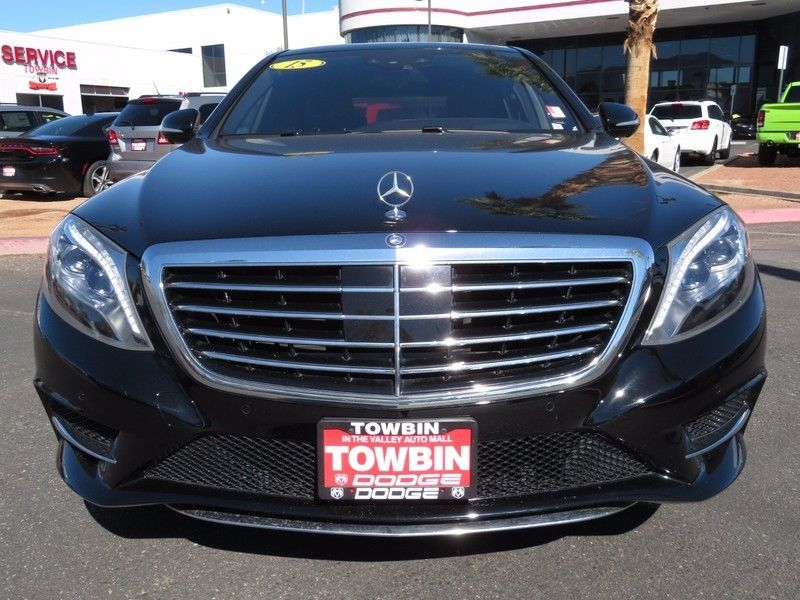 2015 Mercedes-Benz S-Class 4dr Sedan S 550 RWD - 16730625 - 1